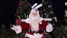 Santa at the NHL 100 Classic - Ottawa