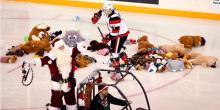 Ottawa 67s Teddy Bear Toss 2016