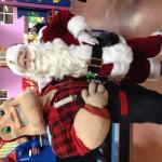 Santa with Big Joe