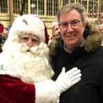 Santa and Ottawa Mayor Watson