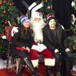 Santa and Visitors
